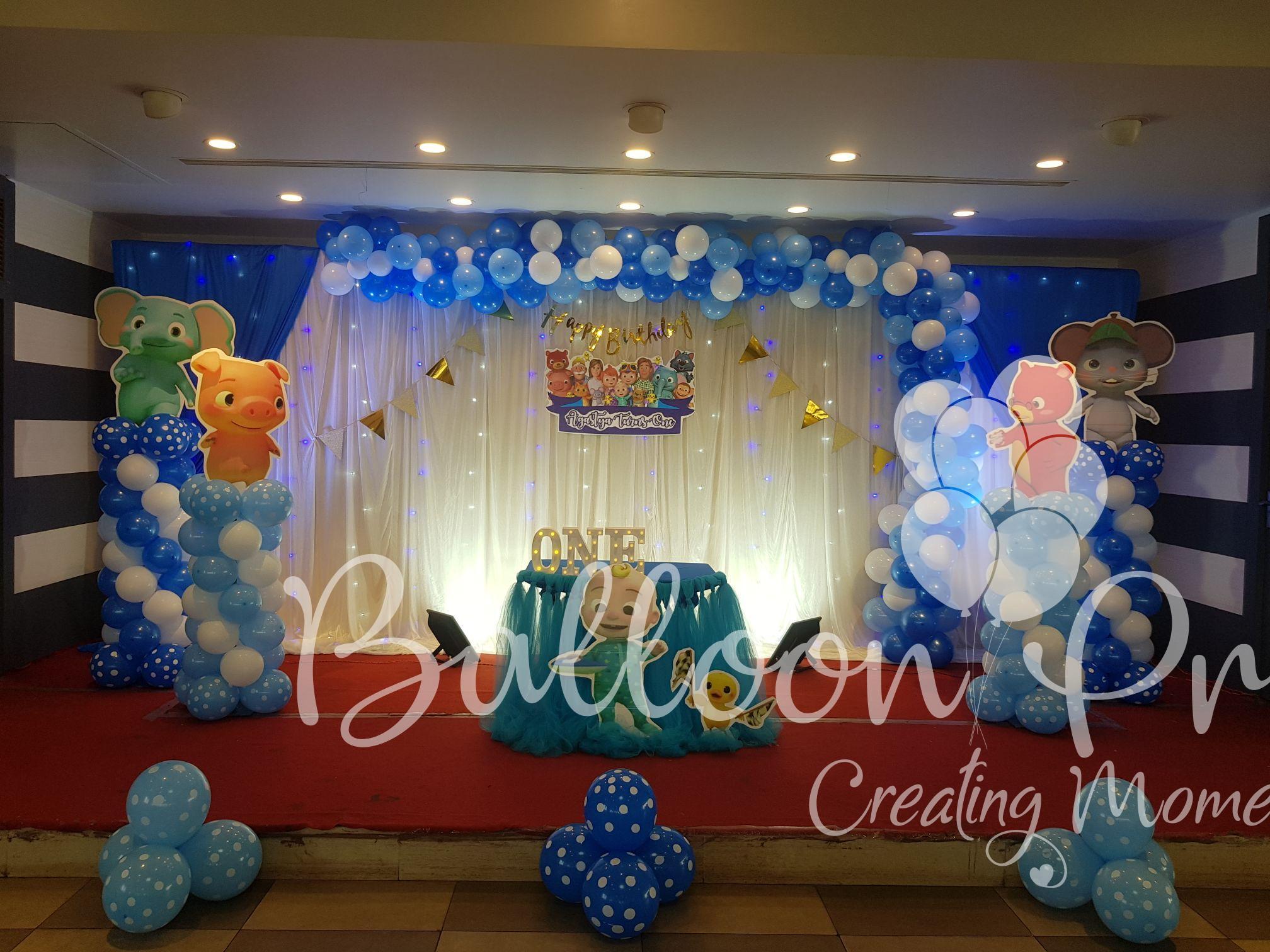 Beautiful Cocomelon Theme Balloon Pro